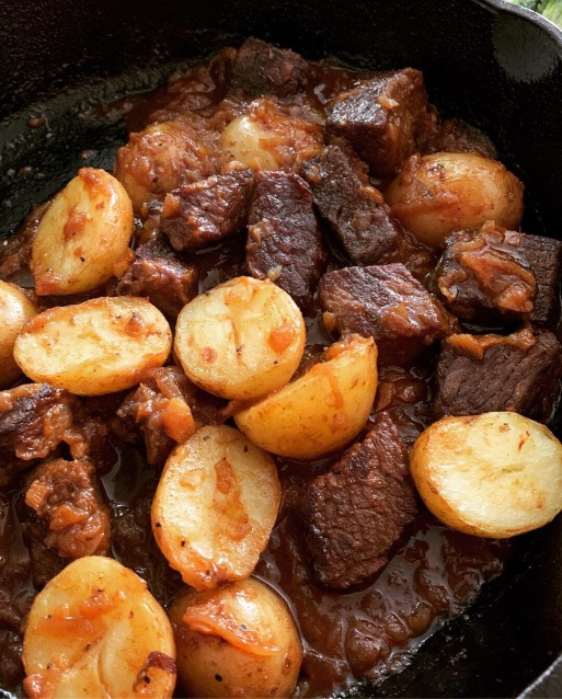 moroccan beef with paprika
